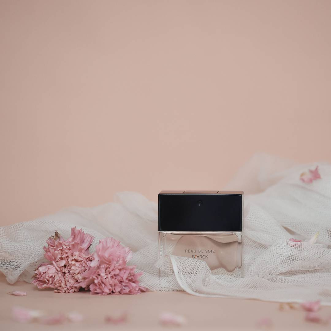 """A perfume is the best way to tell about ourselves and the only key to memories."" says Italian photographer Matilde Minauro. @starck Photo by @quietpoem #StarckParfums #StarckParis #Starck #PhilippeStarck #PeauDeSoie"