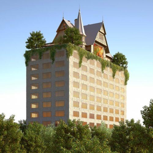 Maison Heler, arquitectura fantasmagórica de Starck en Metz