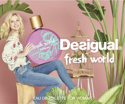 For a fresher world! A shamelessly funny fragrance