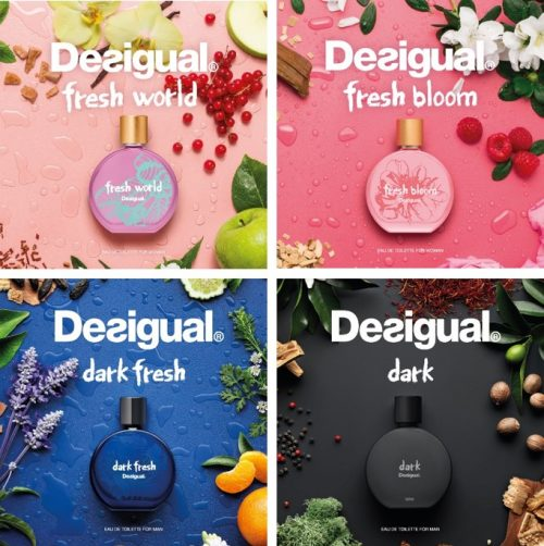 Four fresh fragrances for everyone