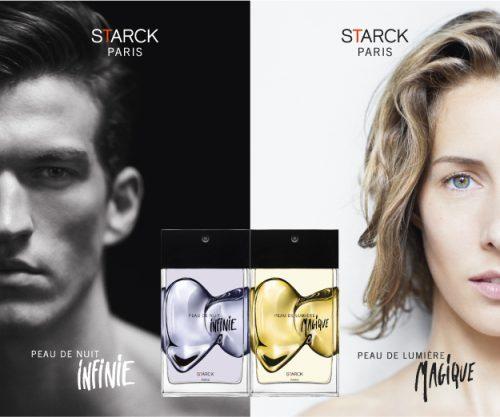 Peau de Nuit Infinie y Peau de Lumière Magique de STARCK Paris