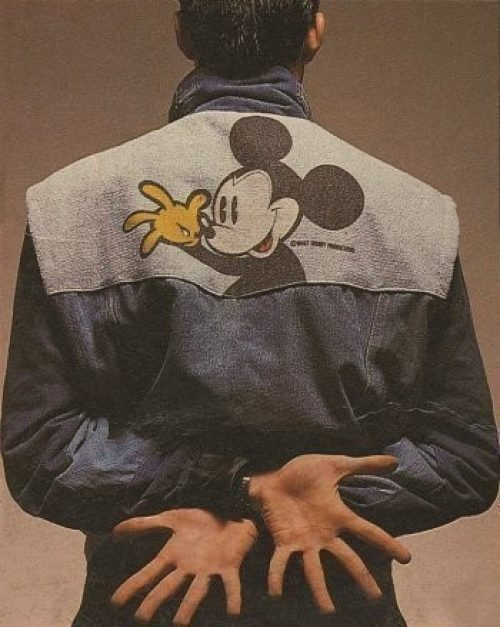 Desigual relaunches its iconic Mickey Mouse jacket