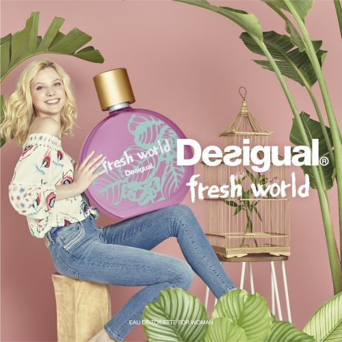 A year full of new resolutions starts with Desigual FRESH WORLD