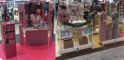 Christmas windows filled with warmth with TOUS