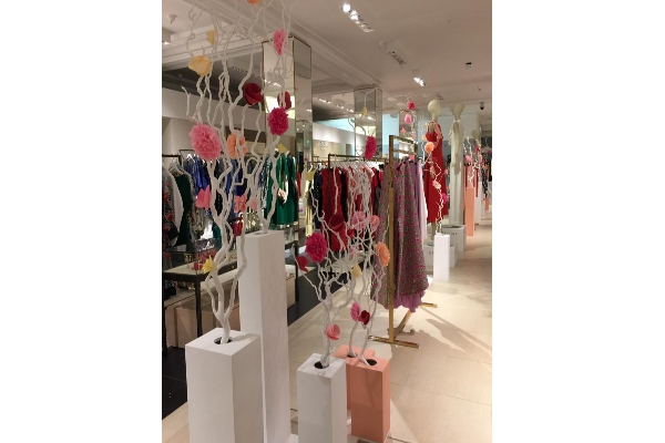 Delpozo opens a pop-up store in Harrods, London
