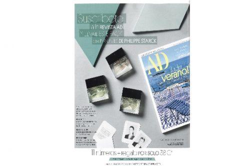 Nueva colaboración STARCK Paris + revista AD