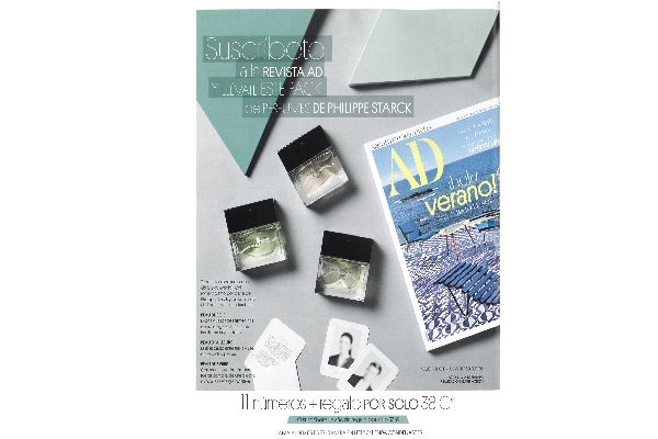 New collaboration between STARCK Paris and AD magazine