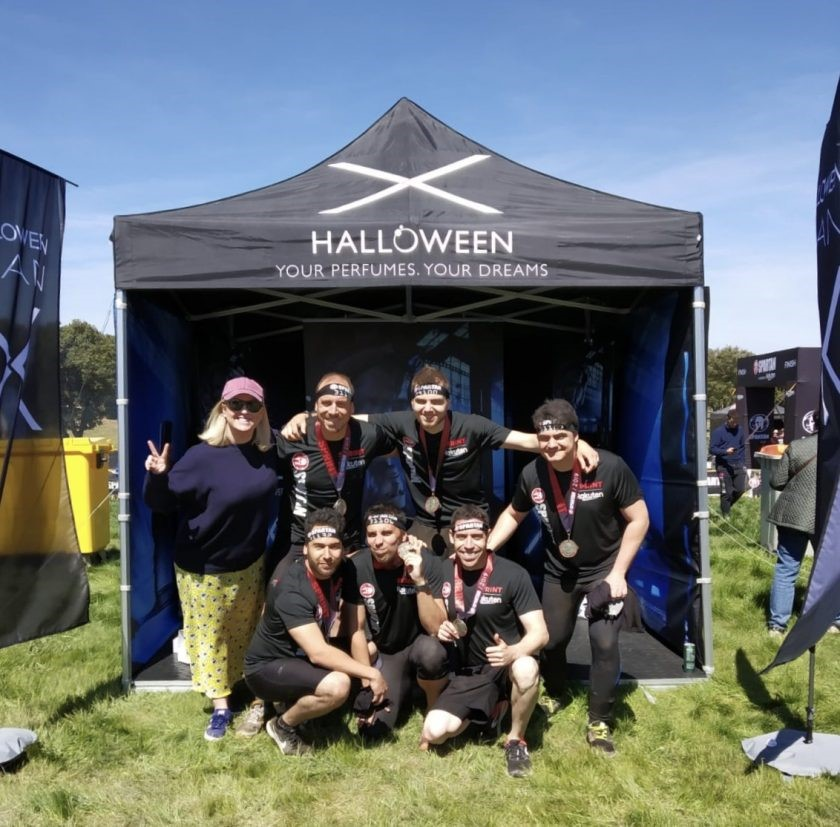 HALLOWEEN Man X and PYD group, between the adventure of the Spartan Race and the tenderness of a big family