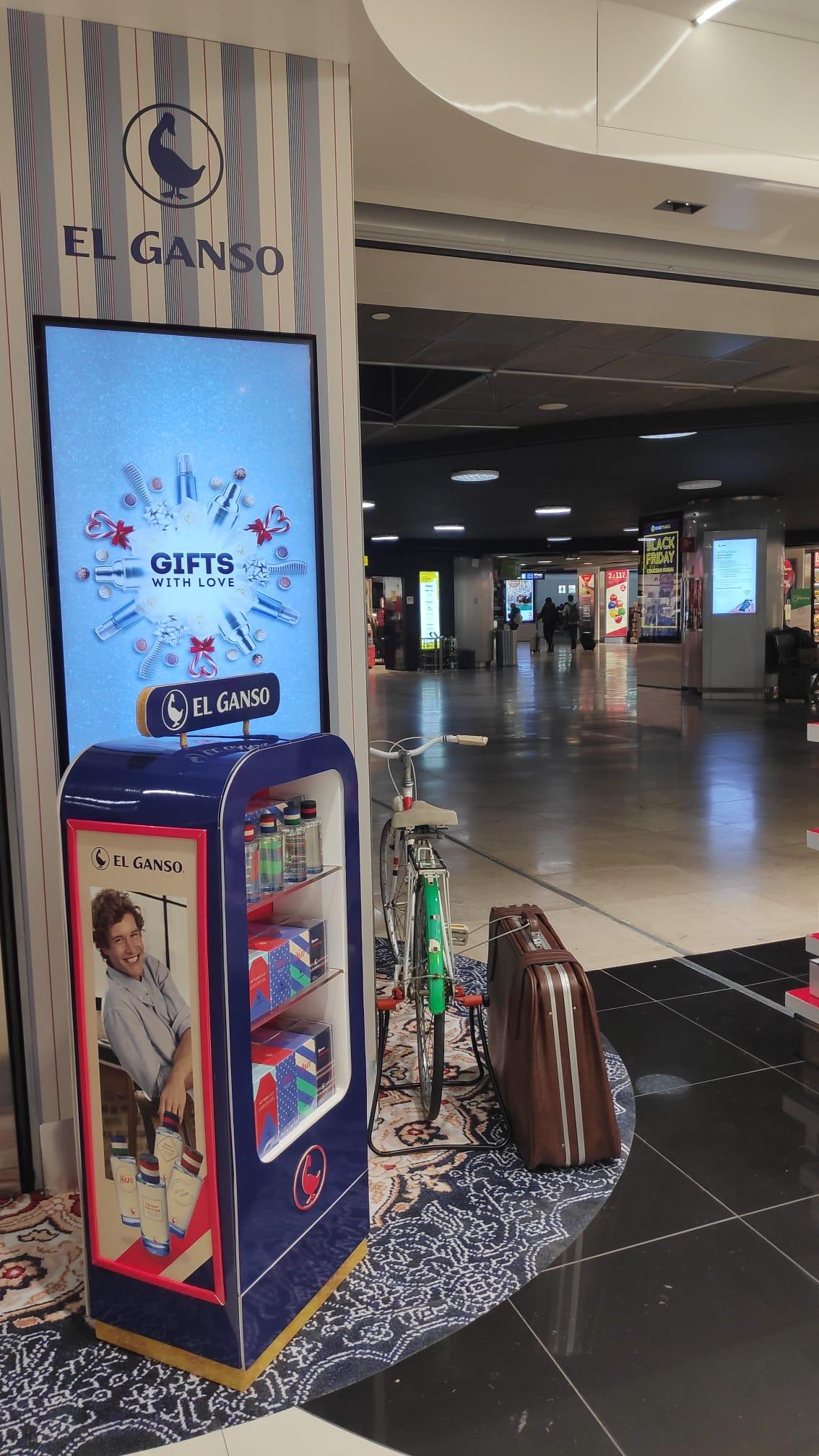 Perfumes El Ganso, ahora en la Terminal 3 del Adolfo Suárez Madrid-Barajas